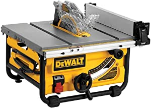 "DeWalt DWE7480 10"" Compact Jobsite Table Saw"