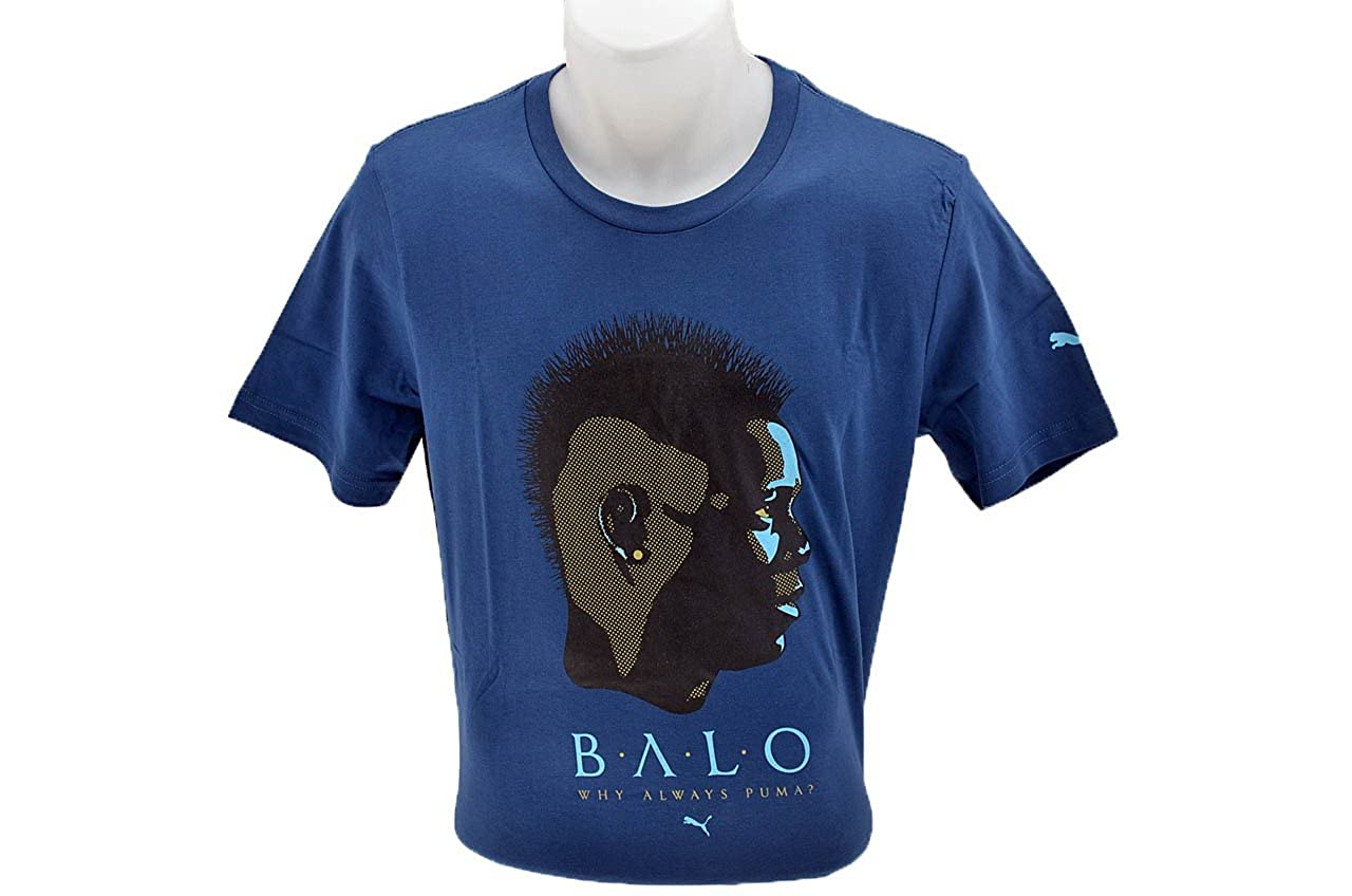 Bambino Puma Verde Bianco It Balotelli Jr T shirt A Buon