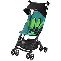 gb Gold Wózek dziecięcy Pockit + All Terrain, Ultrakompaktowy, Od 6 miesięcy do 22 kg (ok. 4 lata), Laguna Blue