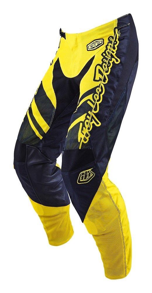 2016 Troy Lee Designs GP Air Flexion Pants-Yellow/Black-28