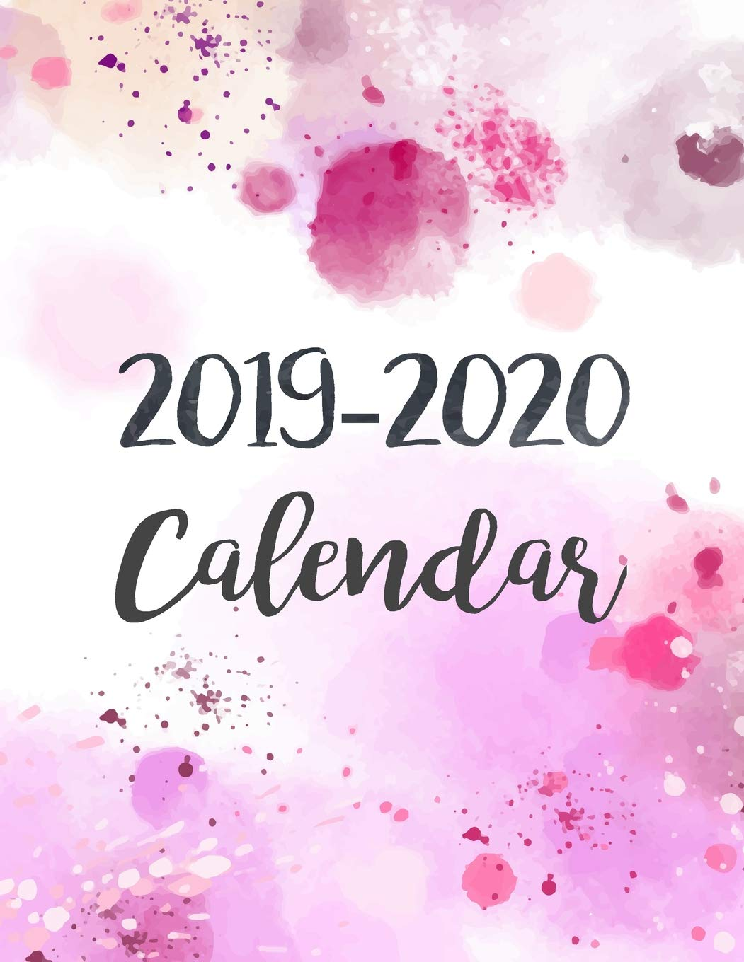 December 2020 Calendar With January 2020 2019 2020 Calendar: Daily Weekly Monthly Calendar Planner | 24