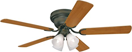 Westinghouse Lighting 7216200 Contempra IV 52-Inch Indoor Ceiling Fan