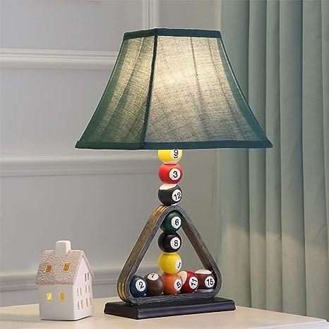 Lámpara Creativa de Mesa de Billar para niños, lámpara de ...