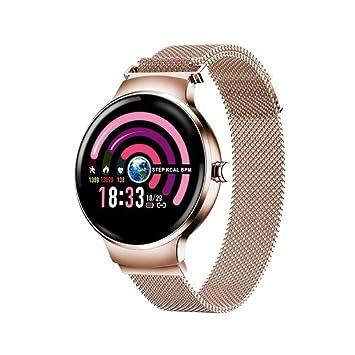 QXYOUNGB Smartwatch Deportivo para Mujer Podómetro Presión ...
