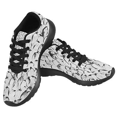 InterestPrint Womens Jogging Running Sneaker Lightweight Go Easy Walking Comfort Sports Running Shoes  B07BGYXZSV