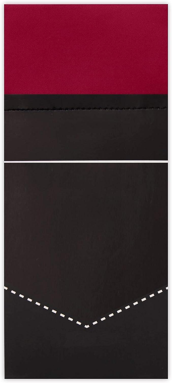 Jacob Alexander Mens Pre-Folded Rectangular Pocket Square Handkerchief