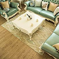 Living Room Rugs 6×9 Beige Eclectic Design Polyester Home Decor