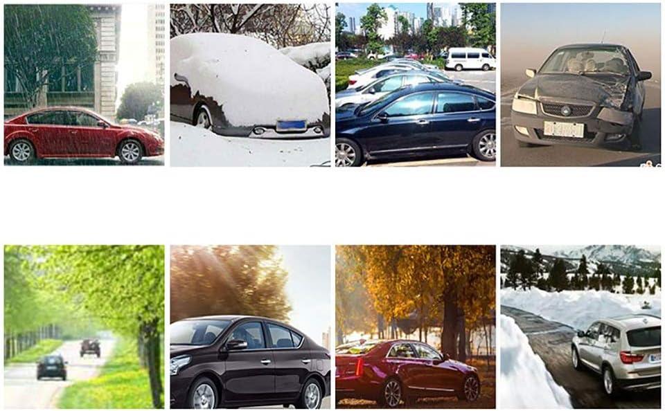 Auto Exterieur Couverture Etanche Oxford Chiffons 4 Couleurs Couvertures de voiture Compatible avec B/âche Voiture Impermeable Dodge Ram Color : SILVERY-5817/×2017/×1900MM