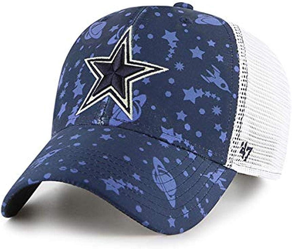 KIDS NFL Dallas Cowboys Boys 47 Brand Blast Off 47 MVP Hat Navy