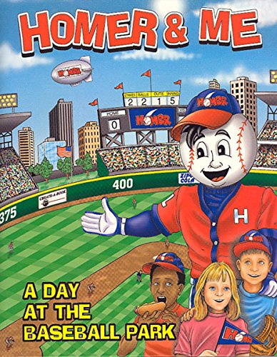 Homer & Me -A Day At The Baseball Park- personalized pdf