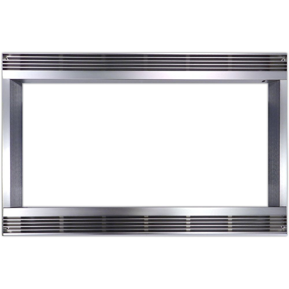 27 In. Built-In Trim Kit for Sharp Microwave R551ZS - Stainless Steel