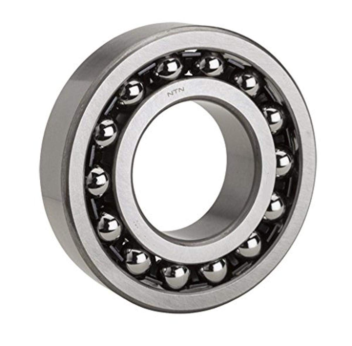 27 mm Width 110 mm OD Normal Clearance Open 50 mm Bore ID NTN Bearing 1310 Double Row Self-Aligning Radial Ball Bearing Standard Cage