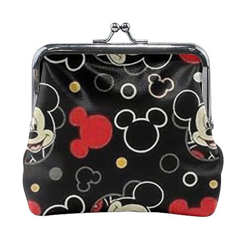 Xzcxyadd Monedero para mujer, diseño de Mickey Mouse, color ...