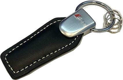 TGH (SLTR) Llavero de Piel con Remache metálico con Logo ...