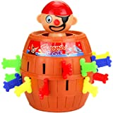 Isuper Gioco per Bambini Pop Up Pirate, Gioco d'azione per Tutta la Famiglia - Gioco di Pirati Perfeziona la destrezza del Tuo Bambino Divertente Gioco Pirata per Bambini