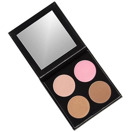 ISH Cosmetics Cream Contour Concealing Foundation Kit Make Up Palette Light Medium
