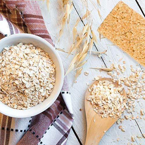 nu3 Barras energéticas de avena natural | 1,5 kg (15 x 100g) de energía pura | Snack saludable - solo 425 kcal por porción | 48% de granos integrales | 58g ...