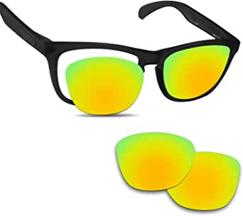 amazon com fiskr replacement lenses for oakley frogskins