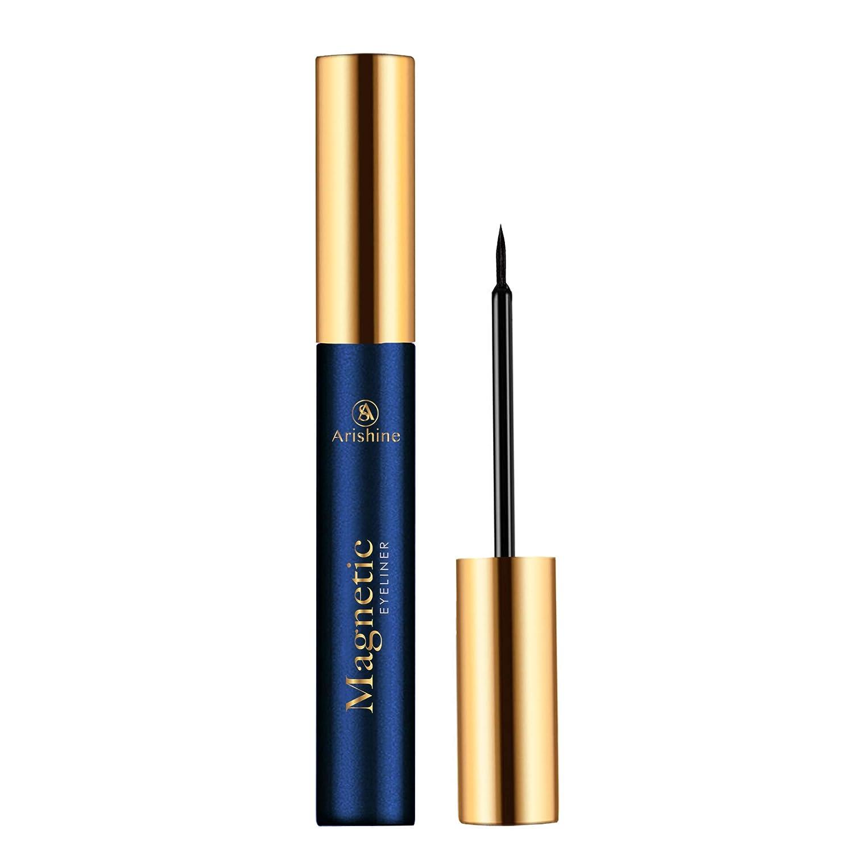 Arishine Magnetic Eyeliner, Natural Look,Waterproof and Smudge Resistant
