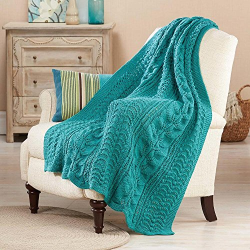 Herrschners® Victorian Treasure Knit Afghan Kit by Herrschners®