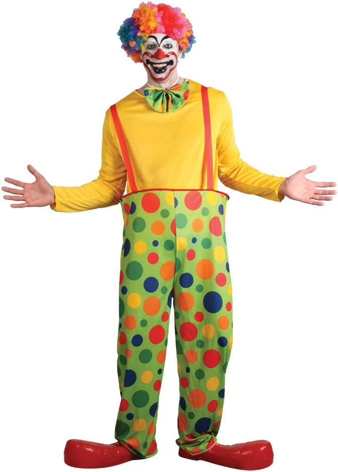 Adults Clown Costume Accessory Circus Carnival Mens Fancy Dress Accessories