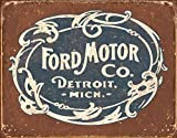 Ford Historic Logo Metal Tin Sign 16