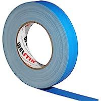 WELSTIK Dunne Gaff Tape 25MM*30.2M Gaffa Tape Matt Doek Tape, Blauw