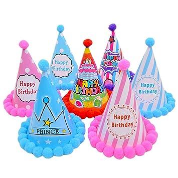 Toyvian 11 Piezas Gorros de Fiesta de cumpleaños Sombreros ...