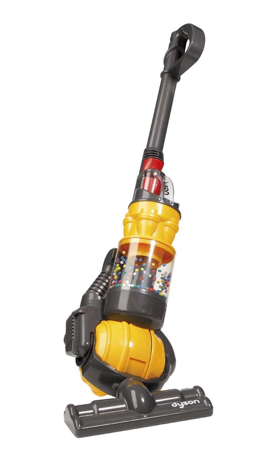 Casdon - Dyson Ball Vacuum with real suction and sounds - Toy Vacuum by CASDON