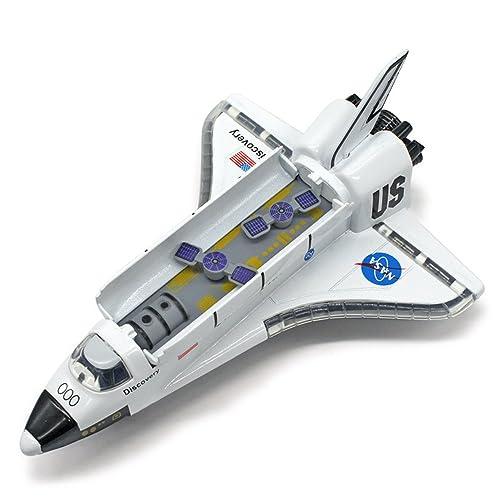"MyLifeUNIT NASA Space Shuttle Die-cast Model, 8""Shuttle Orbiter Ship Collection light"