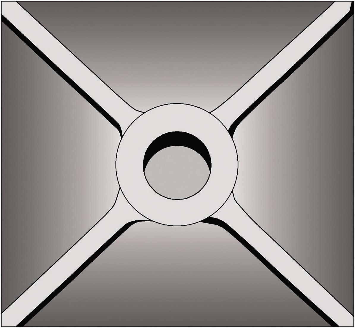 Bosch 5 In. x 5 In. SDS-max Tamper Plate Hammer Steel HS1828