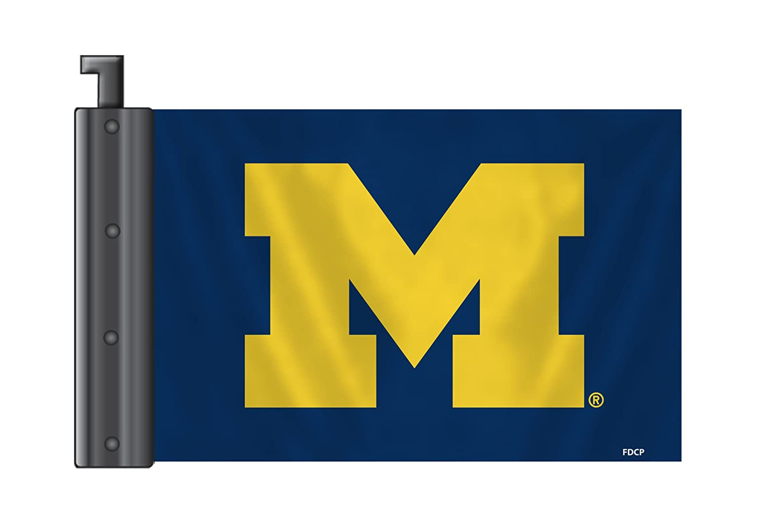 Fremont Die NCAA Michigan Wolverines Antenna Flag Fremont Die Inc. 53240