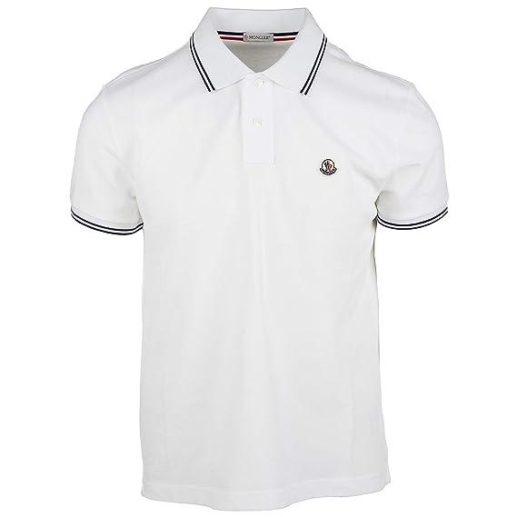 119e614c1 Moncler Men t-Shirt Bianco XL: Amazon.co.uk: Clothing