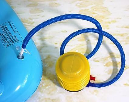 Amazon.com: Bomba de aire de bola para natación, flotador ...