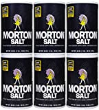 Morton Salt Regular Salt, 26 oz, 6 pk