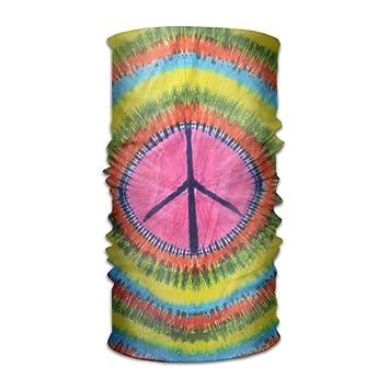 Pengyong Corbata Dye señal de Paz Unisex Moda de Secado rápido ...