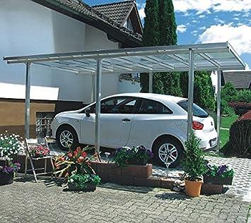 Beckmann Aluminium Carport 311 x 496 x 218 cm Aluminium natur ...