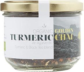 Wunder Workshop Organic Golden Turmeric Black Tea, 70 g