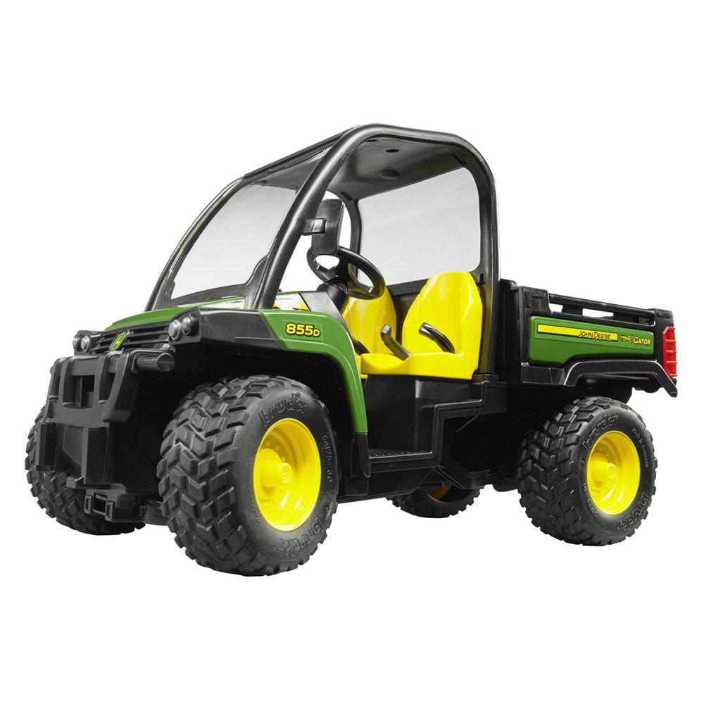 bruder john deere gator xuv 855d ebay. Black Bedroom Furniture Sets. Home Design Ideas