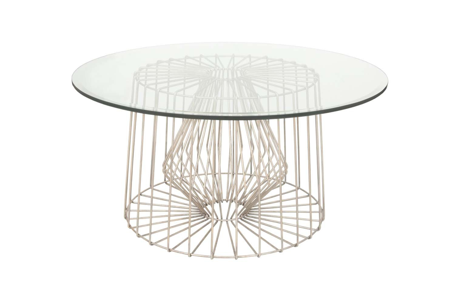 Kalco Lighting 800502PS Coffee Table - Coffee table from the Metro collection Height: 18.00 inches Width: 36.00 inches Style: transitional light Type: wall sconce - living-room-furniture, living-room, coffee-tables - 61IqTrwdsqL -