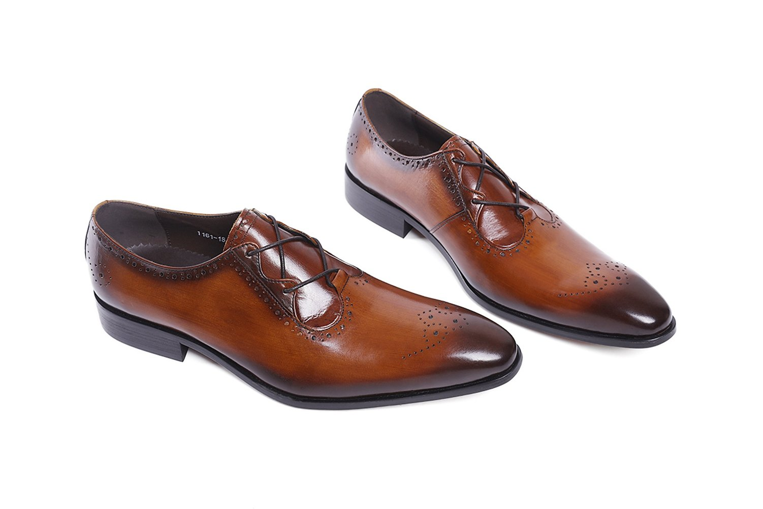Felix Chu Men's Italian Designer Luxury Perfect Genuine Calf Leather shoes, Brown, 9 D(M) US by Felix Chu (Image #5)
