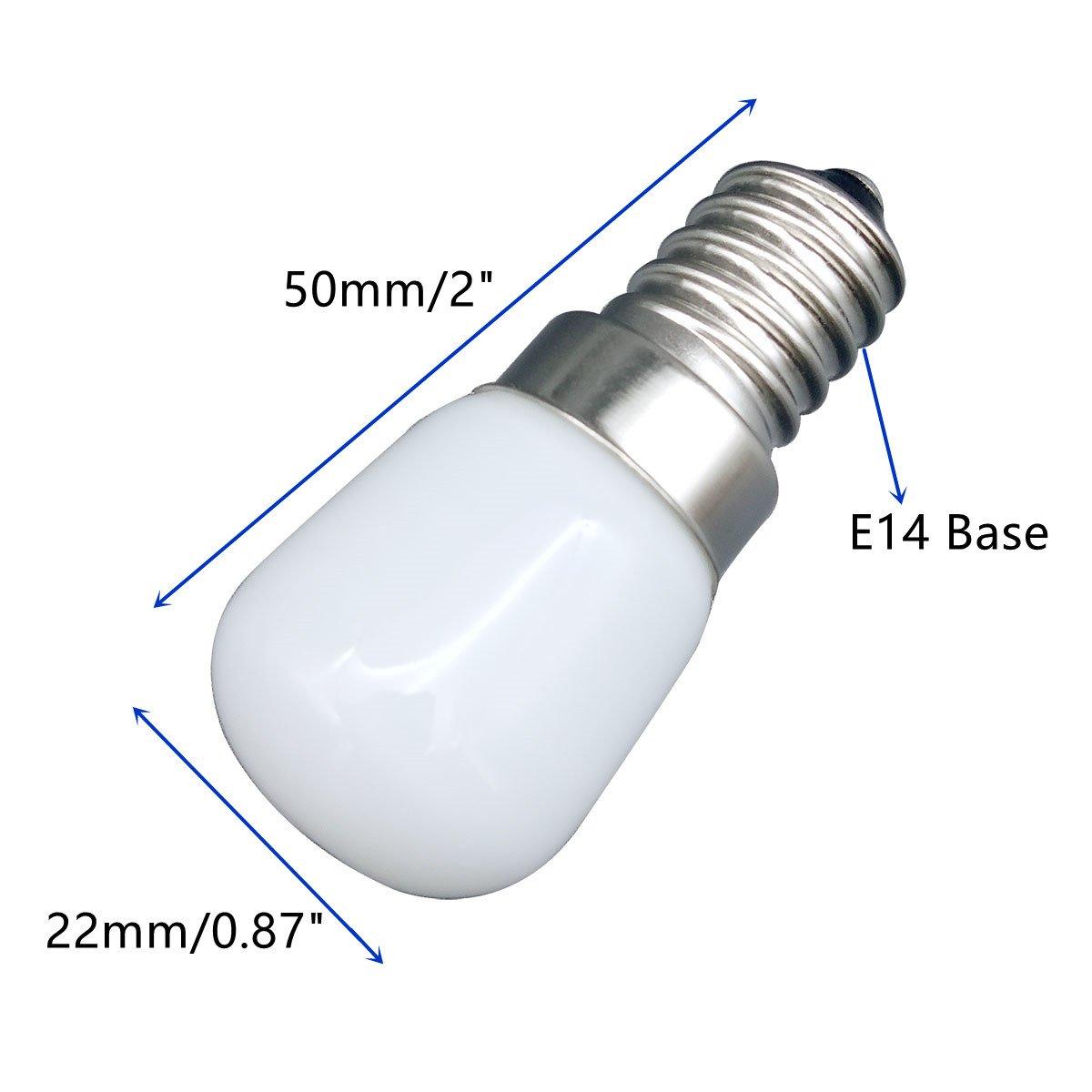 ... Bombilla Ahorro Energía Blanco Fresco[Equivalente 15W Bombilla Halógeno] Para el Refrigerador/la campana de cocina/la máquina de coser: Amazon.es: Hogar