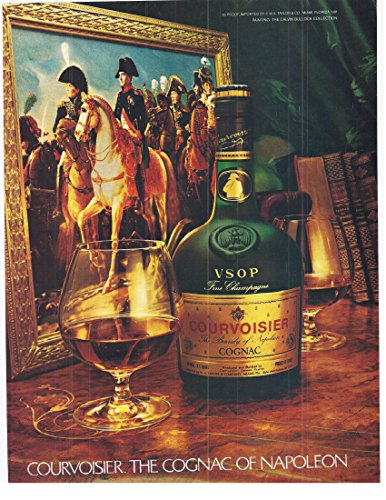 - 1982 Vintage Print Advertisement for Courvoisier Fine Champagne Vsop Cognac