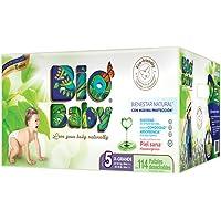 Bio Baby, Unisex, Talla Extra Grande, 114 Pañales (La imagen del empaque puede variar)