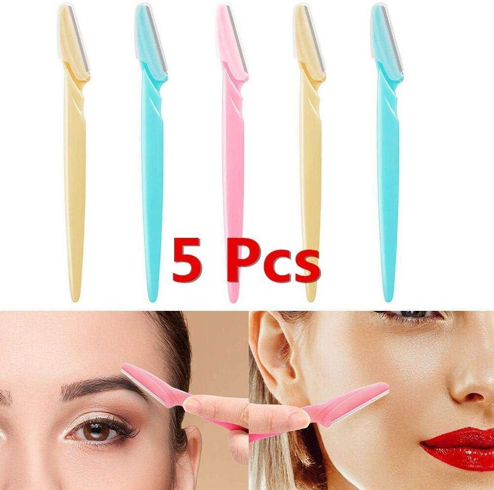 yagot - Cuchillo de Cejas con Forma de Cuchillo para Cejas, práctica afeitadora de Cejas, para Mujer: Amazon.es: Jardín