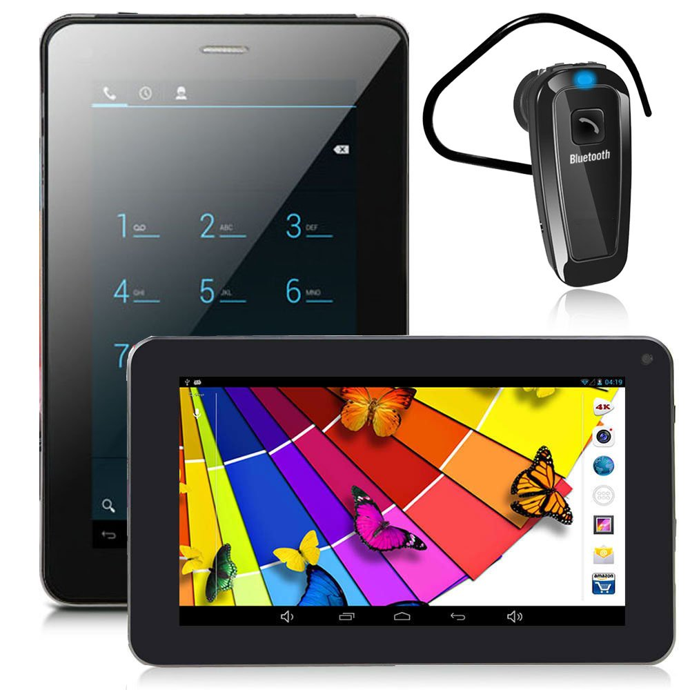 inDigi® Phablet 7'' Android 4.2 Tablet Phone - GSM Unlocked - AT&T T-Mobile Straightalk
