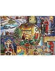 1000 stuks legpuzzels educatief speelgoed puzzel speelgoed for kinderen/volwassenen Kerst Halloween cadeau for jongen meisje uitdagende game puzzels for verjaardag/Thanksgiving familie activiteit spe