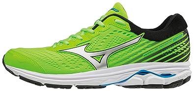 b983570841e8 Mizuno Wave Rider 22, Men's Running Running Shoes,Green (Green Gecko/Silver
