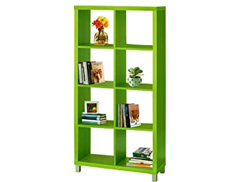 Regal, Bücherregale, Raumteiler KNOX mit 6, 8, 16 Fächer in 5 Farben ...