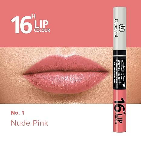 Dermacol Rouge à Lèvres Et Gloss 2en1 Longue Tenue 16h No1 No3 Rouge Cerise 71 Ml